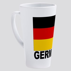 germany_b 17 oz Latte Mug
