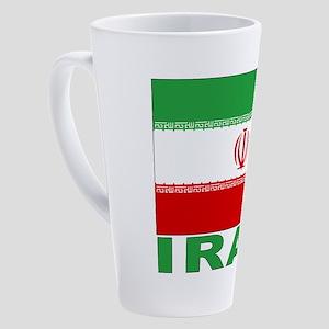 iran_b 17 oz Latte Mug