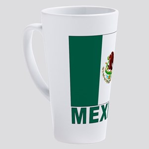 mexico_s 17 oz Latte Mug