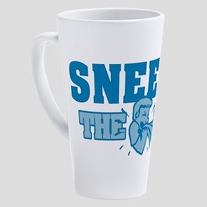 Sneeze The Day 17 oz Latte Mug