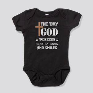 The Day God Made Dogs T Shirt Body Suit