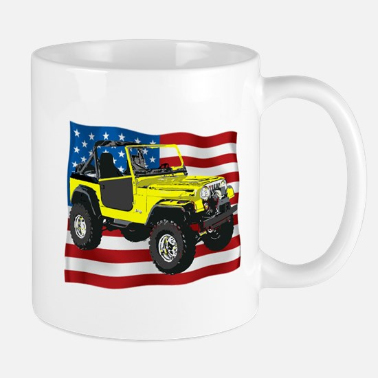 Patriotic CJ Mugs