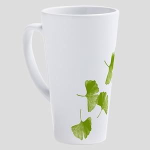 ginkgo_tr 17 oz Latte Mug