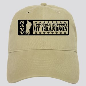 Proudly Support Grandson - NAVY Cap