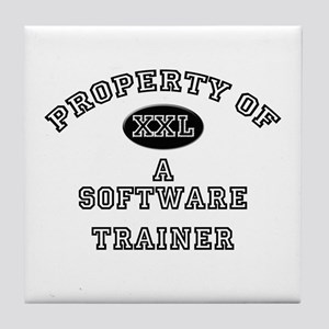 Property of a Software Trainer Tile Coaster