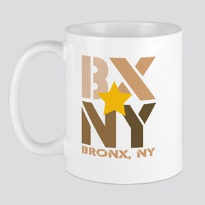 BX, Bronx Brown Mug