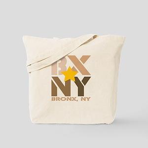 BX, Bronx Brown Tote Bag