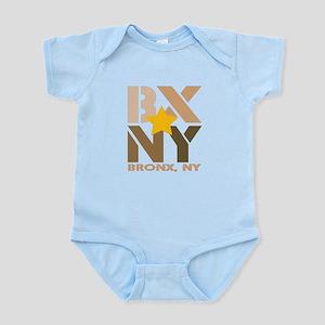 BX, Bronx Brown Infant Bodysuit