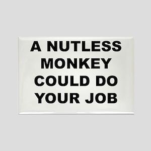 Nutless Monkey Magnets