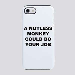 Nutless Monkey iPhone 8/7 Tough Case