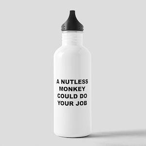Nutless Monkey Water Bottle