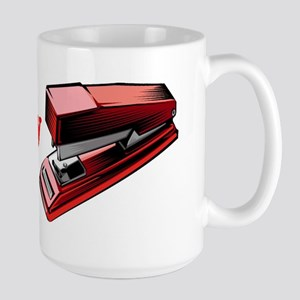 I Love My Stapler Large Mug