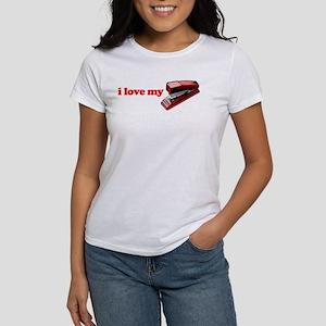 I Love My Stapler Women's T-Shirt