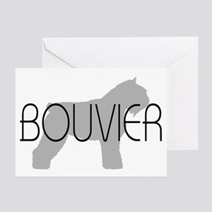 Bouvier Dog Greeting Cards (Pk of 10)
