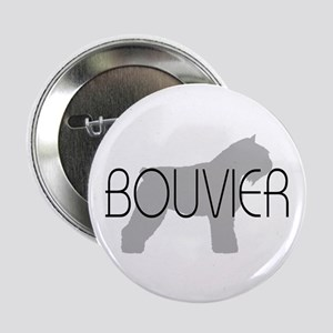 Bouvier Dog Button