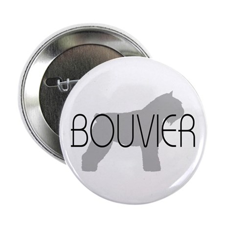 "Bouvier Dog 2.25"" Button (10 pack)"