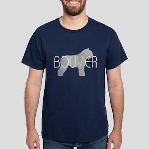 Bouvier Dog Dark T-Shirt