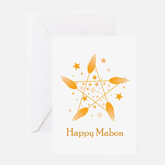 Happy Mabon Greeting Card