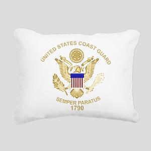 uscg_flg_d3 Rectangular Canvas Pillow