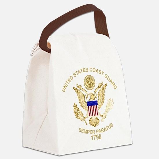 uscg_flg_d3.png Canvas Lunch Bag