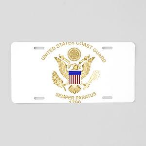 uscg_flg_d3 Aluminum License Plate