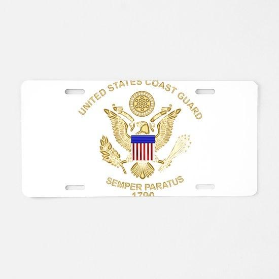 uscg_flg_d3.png Aluminum License Plate