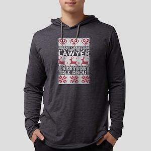 Merry Christmas Lawyer Everybo Long Sleeve T-Shirt