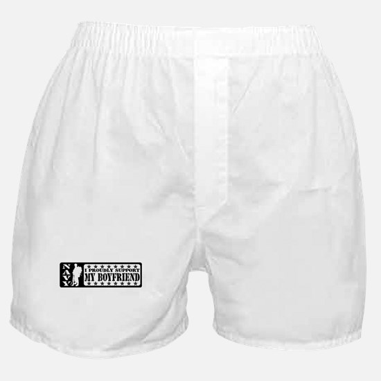 Proudly Support BF - NAVY Boxer Shorts