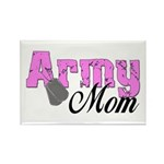 Army Mom Rectangle Magnet (100 pack)