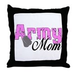 Army Mom  Throw Pillow