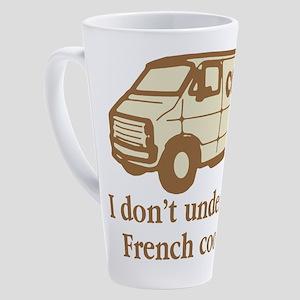 Cocoa Van French Cooking 17 oz Latte Mug