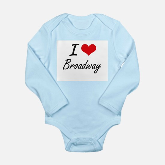 I love Broadway New Jersey artistic des Body Suit