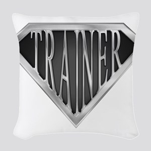 spr_trainer_cx Woven Throw Pillow