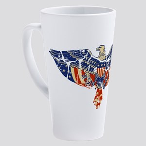EAGLE-RETRO 17 oz Latte Mug