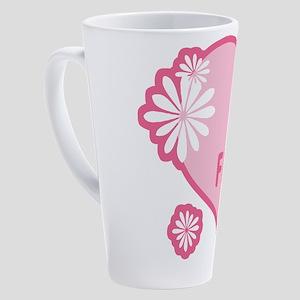 best-friends-pink-new_l 17 oz Latte Mug