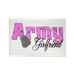 Army Girlfriend Rectangle Magnet (10 pack)