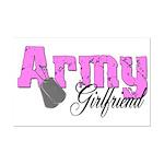 Army Girlfriend  Mini Poster Print