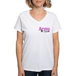 Army Girlfriend Women's V-Neck T-Shirt