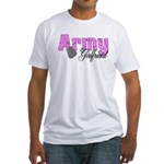 Army Girlfriend Fitted T-Shirt