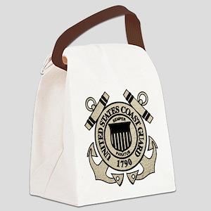 cg_blk Canvas Lunch Bag