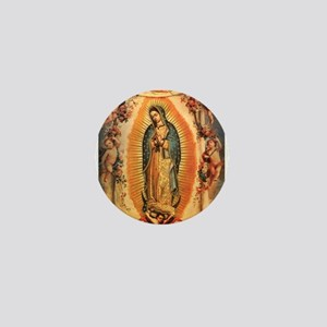 Virgin Of Guadalupe Mini Button