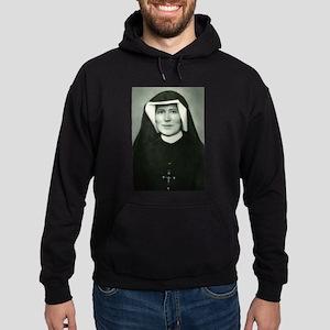 Saint Faustina Hoodie (dark)