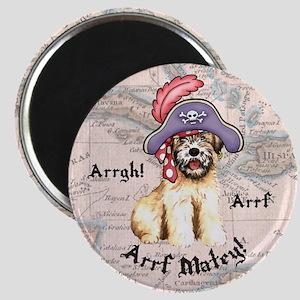 Wheaten Pirate Magnet