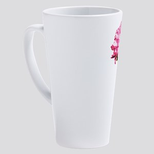 PINK-CARNATION_NEW 17 oz Latte Mug