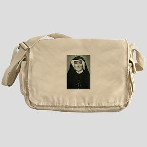 Saint Faustina Messenger Bag