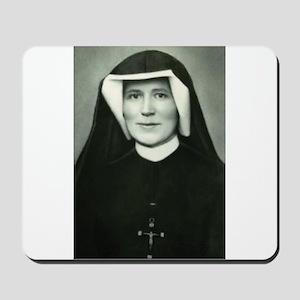 Saint Faustina Mousepad