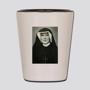 Saint Faustina Shot Glass
