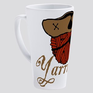 yarrrn 17 oz Latte Mug