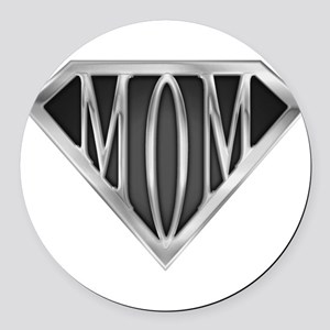 spr_mom_cx Round Car Magnet