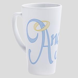 angel-text_tr-new 17 oz Latte Mug